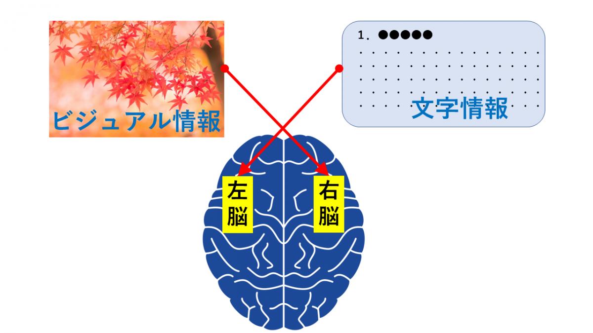 図は左、文字は右に配置